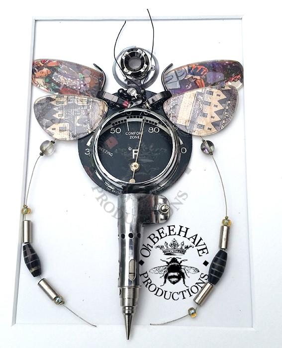 Decimetre Fly Insect, Handmade