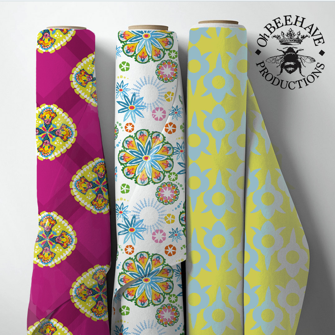 Rolls of Fabric in New Turkish collection designs