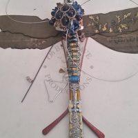 Paper Dragon Fly, Handmade